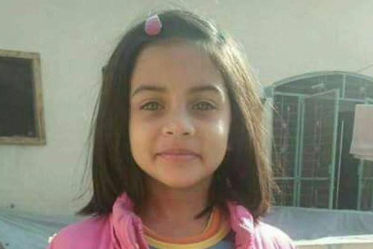 Zainab Ansari, bocah delapan tahun yang diperkosa dan dibunuh di Kasur, Pakistan pada Kamis pekan lalu (4/1/2018).