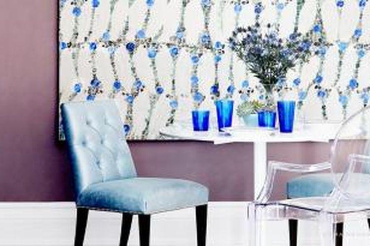 Ilustrasi memadupadankan kursi di rumah, khususnya di ruang makan.