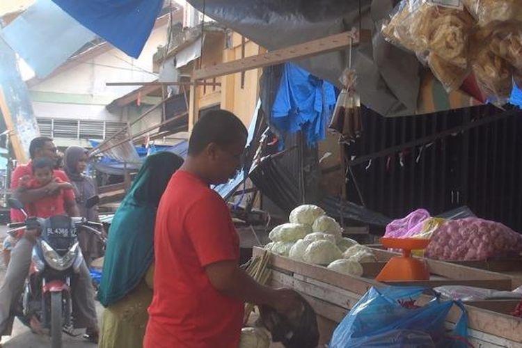 Ilustrasi pasar tradisional.