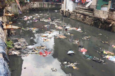 Diperingati soal Sampah, Warga Bantaran Kali Krukut Terkadang Dinilai Lebih Galak