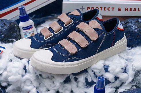 Laris Manis, Sepatu Kolaborasi Hansaplast dengan Sage Footwear Sold Out Kurang dari 4 Menit