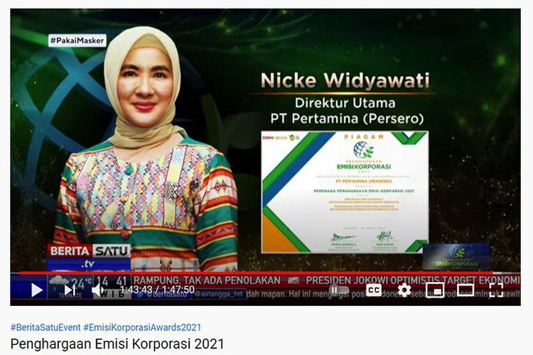 PT Pertamina (Persero) raih enam penghargaan sekaligus pada ajang Emisi Korporasi 2021.