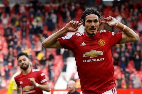 Rekor Cavani di Balik Hasil Imbang Man United Vs Fulham, Ikuti Jejak Ibrahimovic