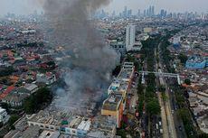 Kebakaran Pasar Cempaka Putih Diduga karena Kebocoran Tabung Gas Pedagang Ayam