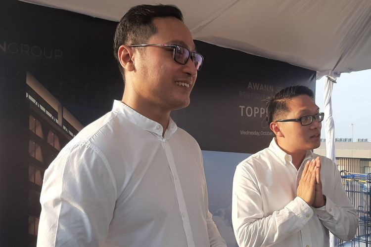 Presiden Direktur AwanGroup Albert Dwijaya dan Corporate General Manager AwannGroup, Denny Ristyanto
