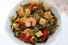 Resep Sayur Asin Cah Tahu Kuning, Tumisan Sayur Praktis