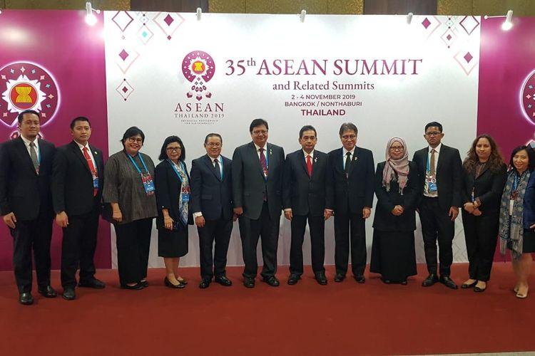 Menko Perekonomian Hadiri Pertemuan Dewan Masyarakat Ekonomi ASEAN