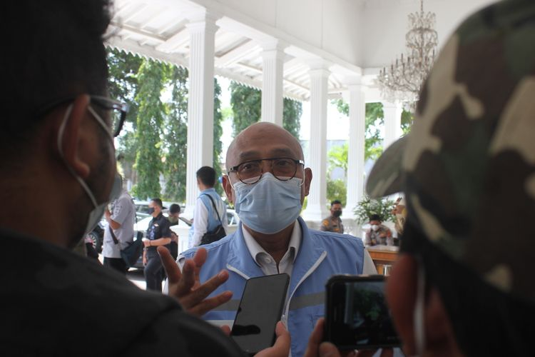 Kepala Badan Narkotika Nasional Provinsi (BNNP) Jawa Barat Brigjen Pol Sufyan Syarif