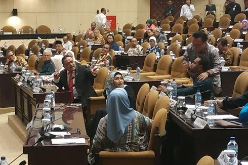 Rapat Paripurna Luar Biasa DPD Ricuh, Senator Sulbar: Ada Akal-akalan Tim OSO