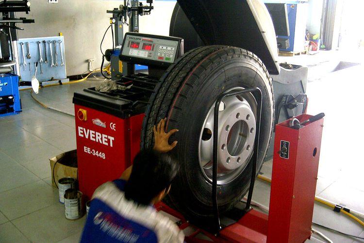 Balancing ban truk