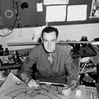 Stan Lee ketika masih di militer. (Wikipedia)