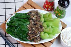 Resep Pokcoy Siram 3 Jamur ala Restoran Chinese Food