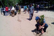 Cegah Masuknya Pasukan Asing, TNI AL Gorontalo Tanam Mangrove