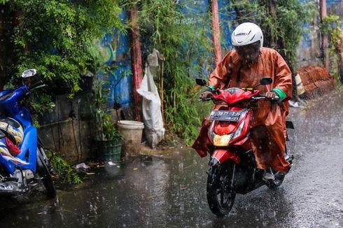 Prakiraan Cuaca BMKG: Jabodetabek Diguyur Hujan Mulai Siang