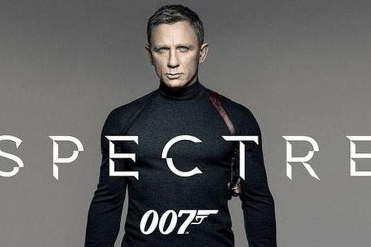 Poster teaser resmi film James Bond yang berjudul Spectre dan dibintangi oleh Daniel Craig