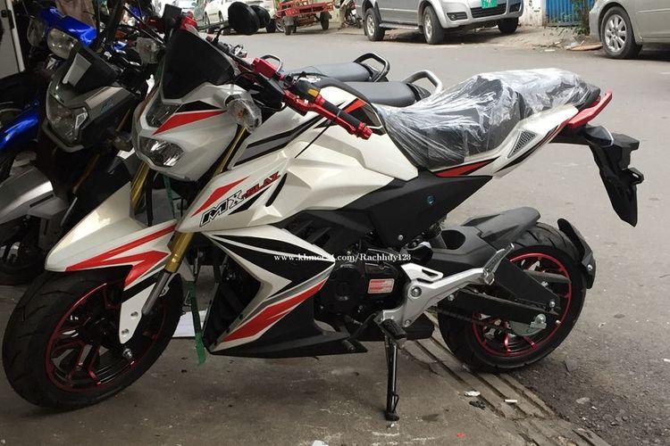 Yamaha MX-Slaz mengemban model yang sangat mirip dengan M-Slaz, tapi dengan kapasitas mesin yang lebih kecil.