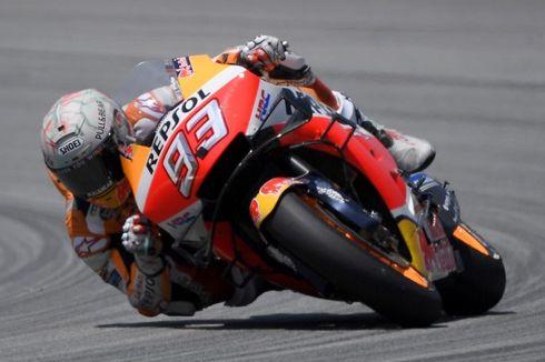 MotoGP Catalunya, Marc Marquez Menangi Balapan Penuh Drama