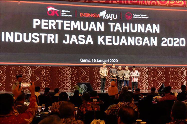Para penerima penghargaan PTIJK 2020 yang berperan dalam mendorong dan berinovasi dalam menggerakkan program ekonomi masyarakat (DOK. Kompas.com)