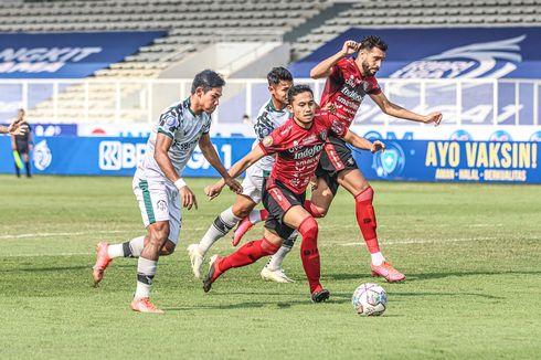 Hasil Bali United Vs Persikabo, Gol Lerby Selamatkan Serdadu Tridatu dari Kekalahan Perdana