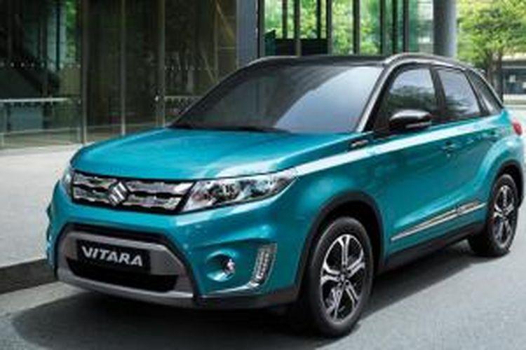 Generasi baru Suzuki Vitara yang sudah mulai diproduksi di pabrik Suzuki Hungaria.