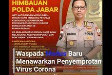 Polda Jabar Imbau Warga Waspada Perampokan Modus Penyemprotan Virus Corona