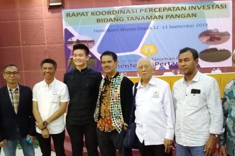Rapat Koordinasi percepatan investasi bidang tanaman pangan, Depok, 12-13 September 2019, Direktorat Jenderal Tanaman Pangan, Kementerian Pertanian.