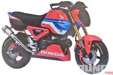 Bocoran Gambar Generasi Baru Honda Grom