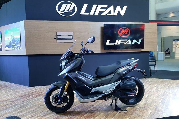 Lifan KPV 150 yang dibilang mirip dengan Honda ADV 150