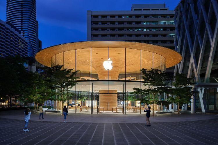 Apple Central World resmi dibuka di Bangkok dan menjadi Apple Store kedua di Thailand.