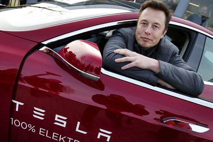 Chairman dan CEO Tesla Motors Elon Musk.