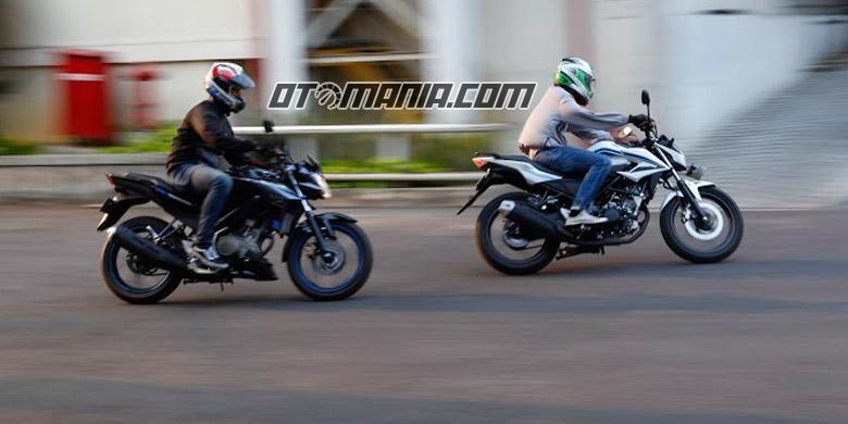 Komparasi Honda CB150R Versus Yamaha Vixion