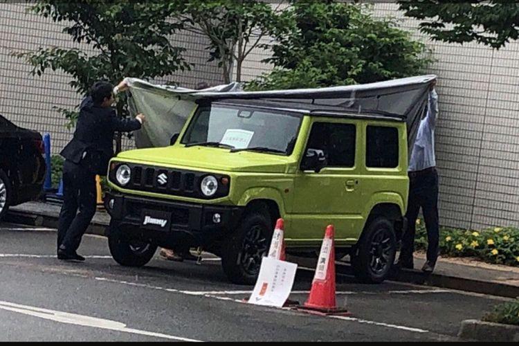 Penampakan Suzuki Jimny terbaru di Jepang