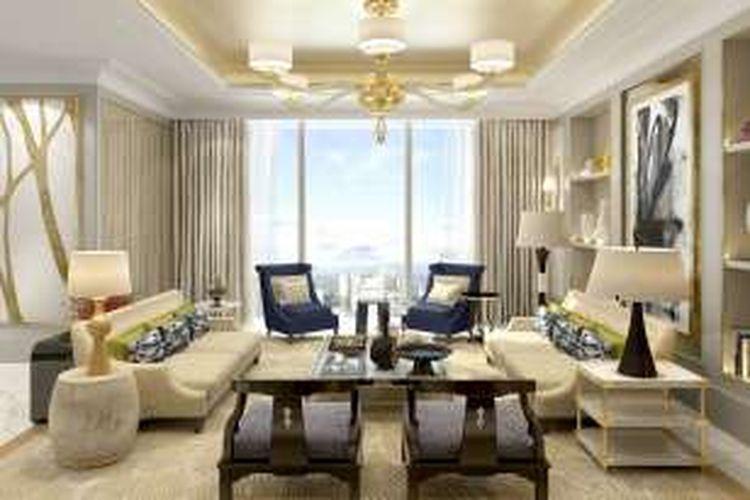 Desain Ruang Tamu Super Mewah 8 apartemen termahal dan termewah di jakarta
