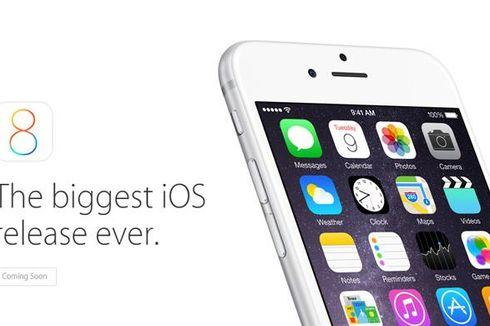 iOS 8 Tak Sepopuler iOS 7