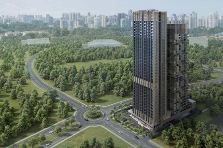 Saumata Suites akan menjadi apartemen tertinggi yang menjulang 40 lantai. Ketinggian apartemen tersebut mengalahkan seri perdananya, Saumata.