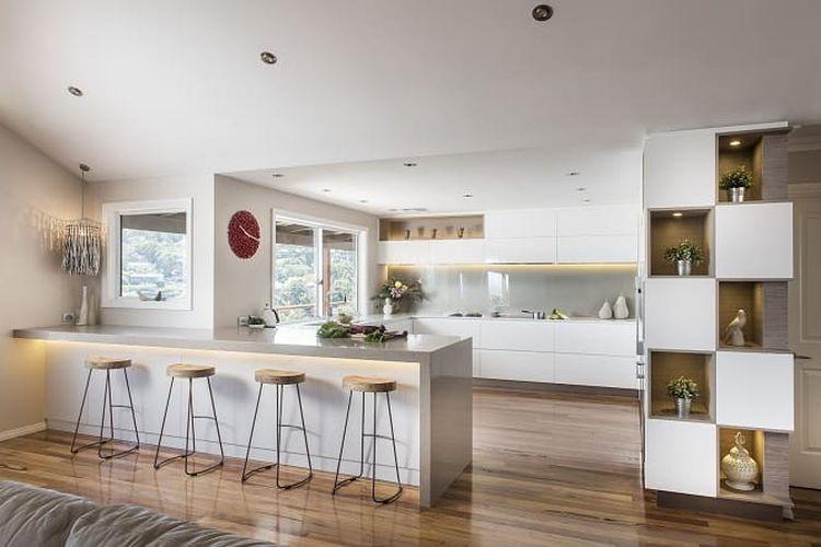 Ilustrasi lemari dapur.