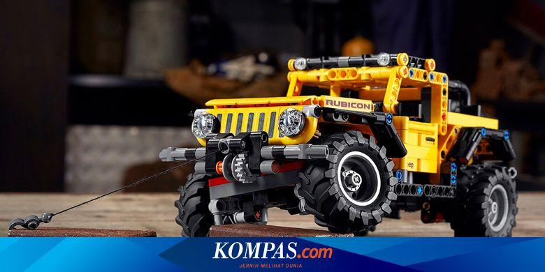 Lego Ciptakan Mainan Jeep Wrangler yang Gagah...