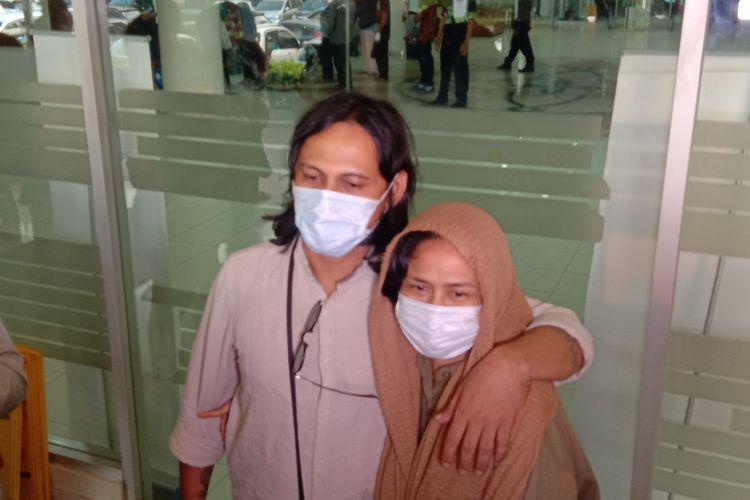 Ria Irawan di Rumah Sakit Cipto Mangunkusumo, Salemba Raya, Jakarta Pusat, Jumat (13/9/2019).(Kompas.com/Tri Susanto Setiawan)