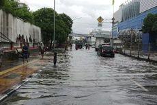 Rawan Banjir, Jalan Gunung Sahari Dipasang Pompa Air