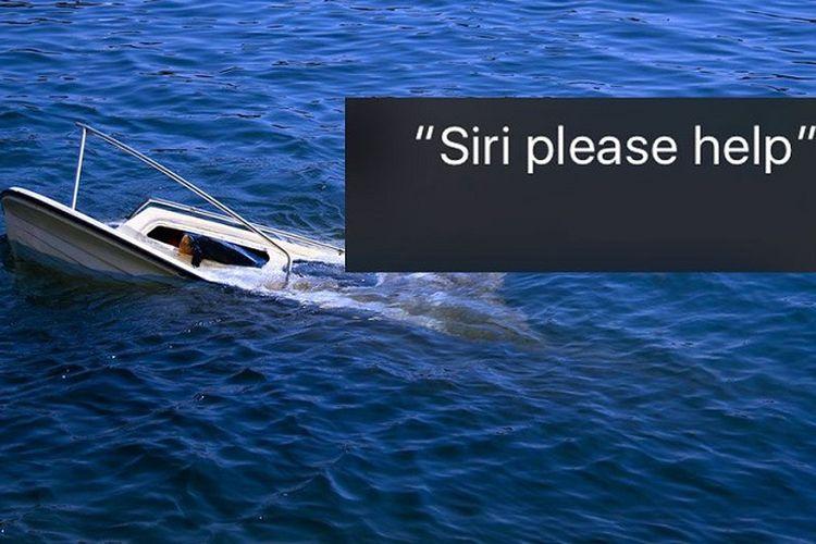 Siri selamatkan tiga nyawa di Florida, AS.