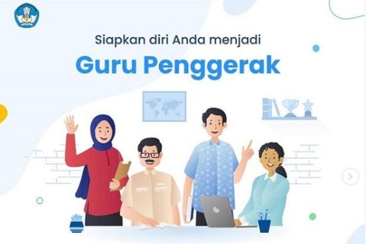 Informasi pembukaan pendaftaran Guru Penggerak.