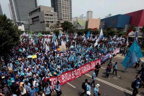 Demo di Istana dan Gedung MK, Massa Buruh Akan Buat