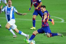 Barcelona Vs Espanyol, Messi-Griezmann Kembali Tersenyum dan Berpelukan