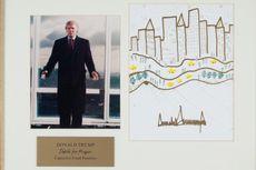 Gambar Gedung Coretan Trump Dilelang Bersama Lukisan Karya JFK