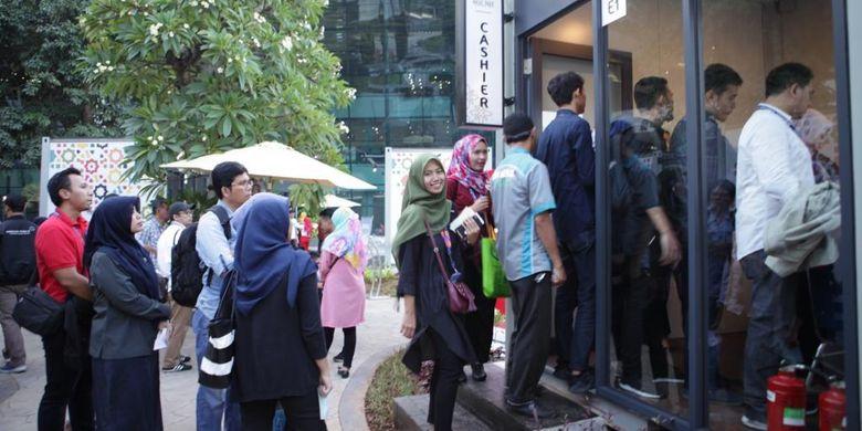 Peresmian Halal Park di Terminal 3 Bandara Soekarno Hatta, Kamis (23/5/2019)