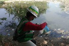 Sungai Ledeng Tercemar Limbah Usus Ayam, Polisi dan Pemkab Turun Tangan