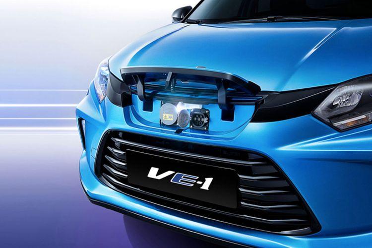 Mobil listrik VE-1 dari Honda bekerja sama dengan GAC hadir di Guangzhou Motor Show 2018