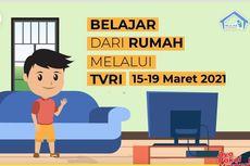 Jadwal TVRI Belajar dari Rumah Hari Ini, Selasa 16 Maret 2021