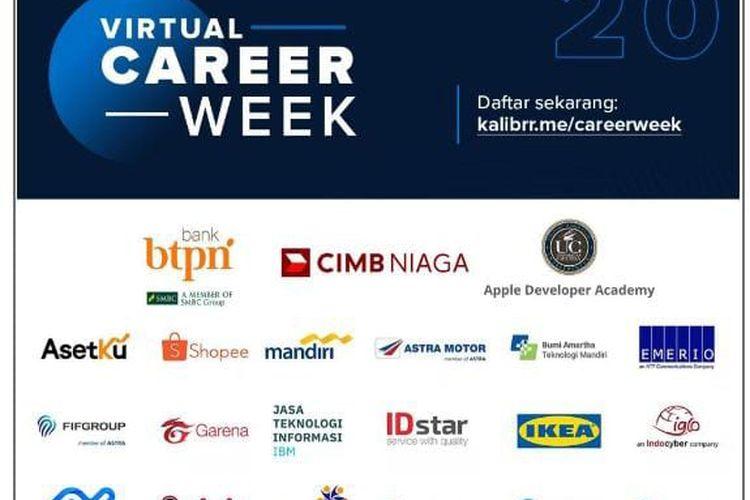 Kalibrr Virtual Career Week.