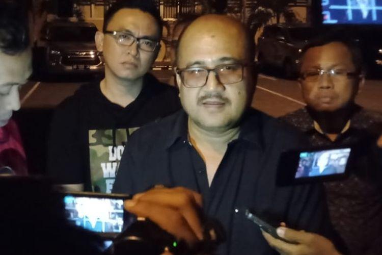 Aspidsus Kejati DIY Jefferdian saat menemui wartawan terkait kabar OTT KPK